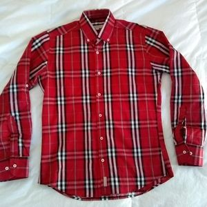 Burberry London Nova Check button up shirt
